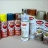 Аерозольна фарба для металу. Опис і застосування