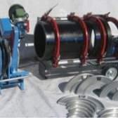 Апарат для зварювання поліетиленових труб і області його застосування