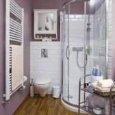 Дизайн ванних кімнат з душовими кабінами: моделі та фото