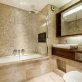 Особливості створення стильного дизайну ванної за допомогою плитки