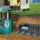Як автономна каналізація танк очищає побутові стічні води в заміському будинку?