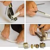 Як робиться професійний монтаж металопластикових труб своїми руками