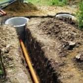Як правильно робиться укладання каналізаційних труб: розраховуємо, кладемо, утеплюємо