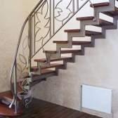 Як зробити сходи в будинку або драбину з профільної труби своїми руками?