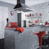 Як вдало скомбінувати шпалери на кухні
