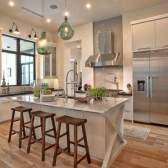 Як в приватному будинку оформити кухню: секрети і поради