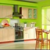 Яким кольором і як пофарбувати кухню своїми руками