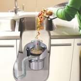 Кухонний подрібнювач харчових відходів для раковин
