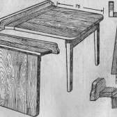 Відкидний столик