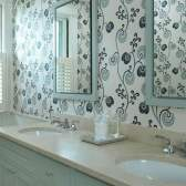 Вибір шпалер для ванної кімнати та переваги даної обробки