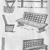 Садова меблі (установка)