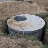 Зливна яма з бетонних кілець