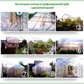 Теплиці з профільної труби: огляд 3-х варіантів для самостійної споруди