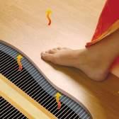 Укладання ламінат на теплий бетонну підлогу