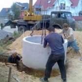 Пристрій колодязя каналізаційного з бетонних кілець своїми руками