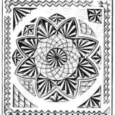 Виконання малюнка різьблений композиції