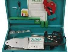 Апарат для зварювання поліпропіленових труб: необхідне обладнання для монтажу трубопроводів
