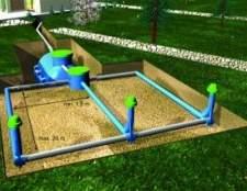 Автономна каналізація і поля фільтрації