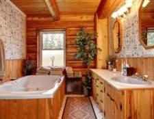 Чим обробити ванну кімнату в дерев`яному будинку: практичні рекомендації
