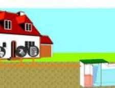 Робимо відстійник для каналізації. Бетонні кільця, єврокуб, бетонування