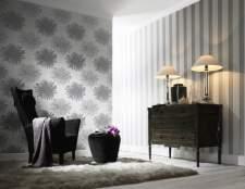 Дизайн інтер`єру залу: вибір і комбінування шпалер