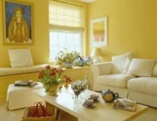 Дизайн стін у вітальні: правила обробки і декорування