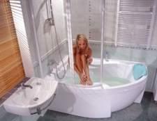 Дизайн ванної з душовою кабіною та фото різних варіантів