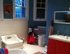 До і після: перетворення сіро-зеленої ванної кімнати