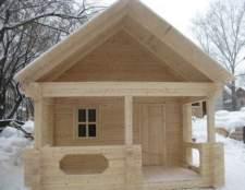 Будинок-лазня 6х9м з бруса