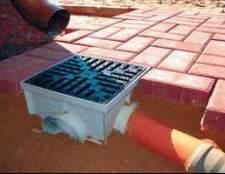 Дощоприймач для зливової каналізації: монтаж і фото