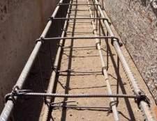 Як армувати бетонний фундамент?