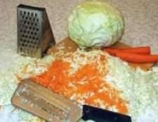 Як квасити капусту (5 рецептів)