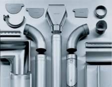 Як правильно виготовити водостік з оцинкованої сталі і виконати його монтаж на будинок?