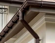 Як правильно вибрати, розрахувати і встановити водостічну систему в приватному будинку?