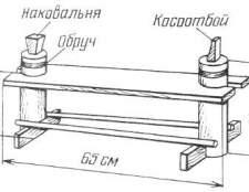Як зробити лавку косаря