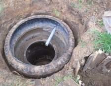 Як споруджується вигрібна яма з покришок своїми руками