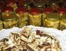 Як сушити, солити, маринувати гриби