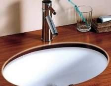 Як встановити вбудовану раковину в стільницю у ванній
