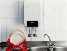 Як вибрати електричний проточний водонагрівач в будинок?