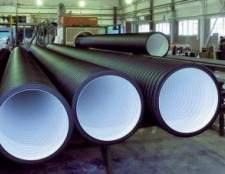 Каналізаційні труби: правила вибору і рекомендації будівельників