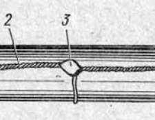 Монтаж свинцевих з`єднувальних муфт (загальний вигляд)