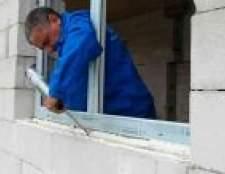 Монтажна піна для вікон. Особливості використання