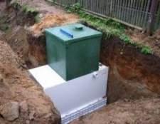 Надійне пристрій каналізації на дачі