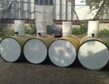 Накопичувальна ємність для каналізації: найпростіший варіант утилізації стоків