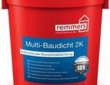 Новий матеріал для гідроізоляції і ремонту зони цоколя представила компанія «remmers»