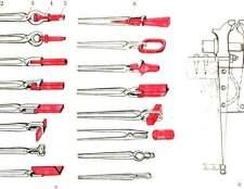 Про ковальські кліщі, контрольно-вимірювальний інструмент