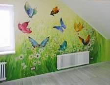 Малюнки на стінах - ідеальне оформлення дитячої кімнати