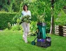 Садовий подрібнювач трави своїми руками