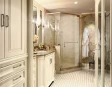 Сучасні матеріали для оздоблення стін у ванній кімнаті: нові віяння