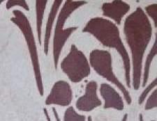 Техніка декоративного фарбування стін - ефект зім`ятого паперу